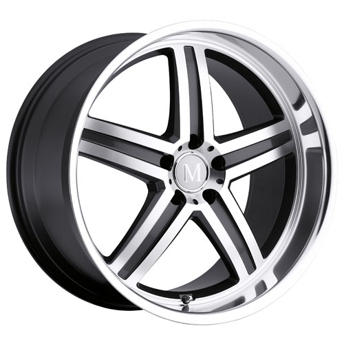 Mandrus Mercedes Wheels Mannheim Gunmetal