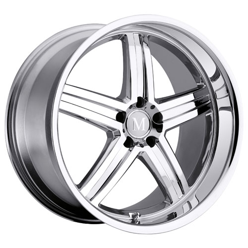 Mandrus Mercedes Wheels Mannheim Chrome