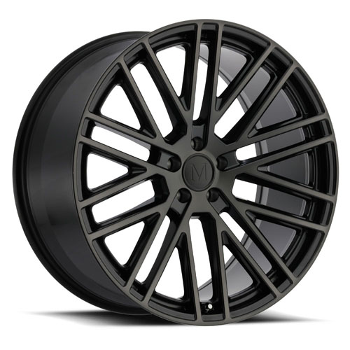 Mandrus Mercedes Wheels Masche Black