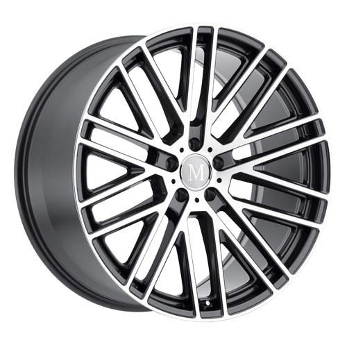 Mandrus Mercedes Wheels Masche Gunmetal