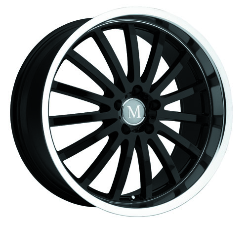 Mandrus Mercedes Wheels Millenium Black