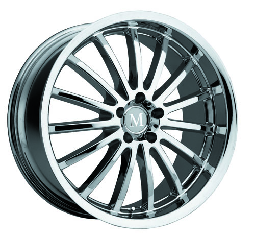 Mandrus Mercedes Wheels Millenium Chrome