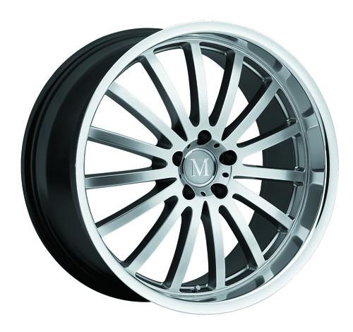 Mandrus Mercedes Wheels Millenium Silver