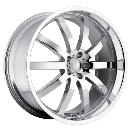 Mandrus Mercedes Wheels Wilhelm Chrome