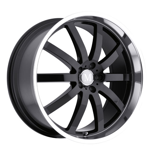 Mandrus Mercedes Wheels Wilhelm Black