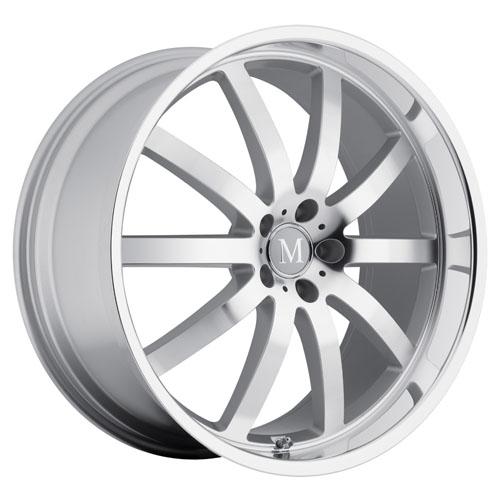 Mandrus Mercedes Wheels Wilhelm Silver