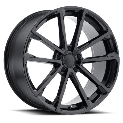 Mandrus Mercedes Wheels Wolf Black