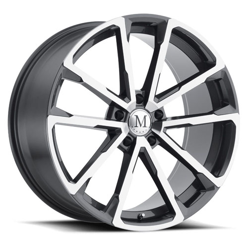 Mandrus Mercedes Wheels Wolf Gunmetal