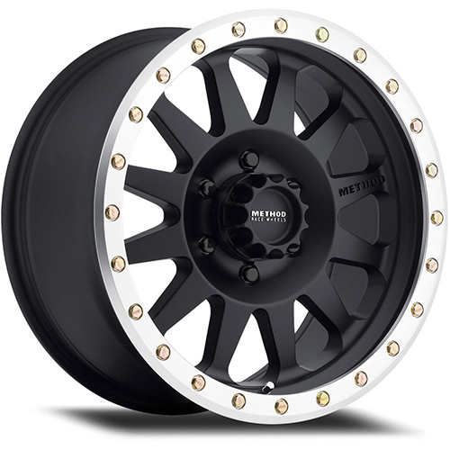 Method Race Wheels Double Standard Matte Black/Machined