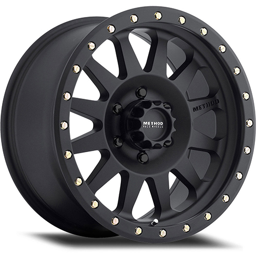 Method Race Wheels Double Standard Matte Black