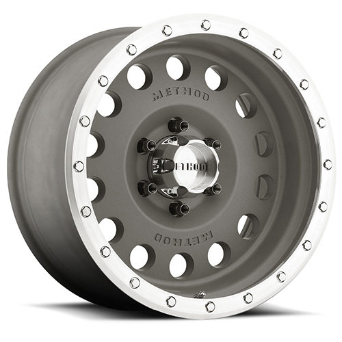 Method Race Wheels Hole Magnesium Grey/Machined Street Lock