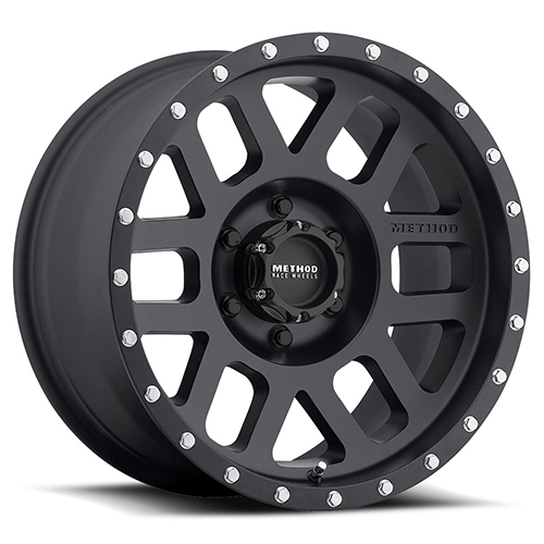 20x9 Method Race Wheels Mesh  Matte Black