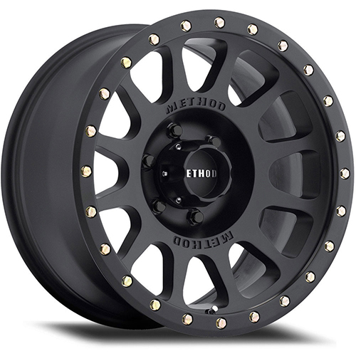 Method Race Wheels NV Matte Black