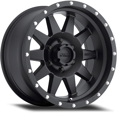 Method Race Wheels The Standard Matte Black