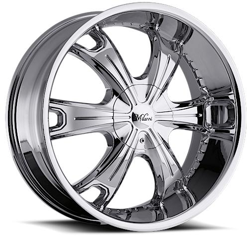 Milanni Wheels 452 Stellar Chrome