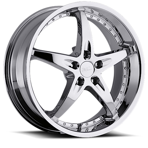 Milanni Wheels 453 ZS-1 Chrome