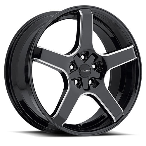 Milanni Wheels 464 VK-1 Gloss Black Milled