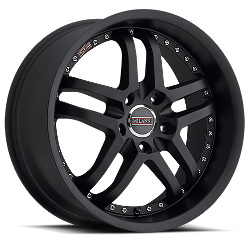 Milanni Wheels 9012 Kapri Satin Black