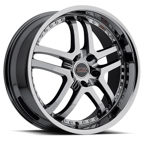 Milanni Wheels 9012 Kapri Phantom Chrome