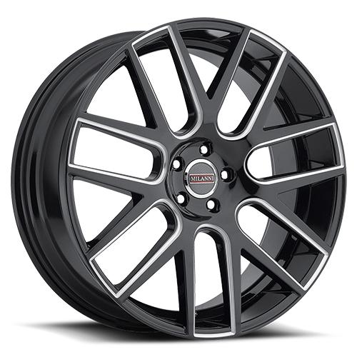 Milanni Wheels 9022 Virtue Milled Spoke