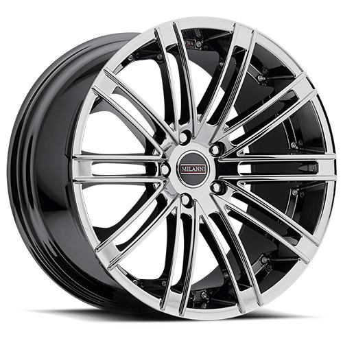 Milanni Wheels 9032 Kahn Phantom Chrome