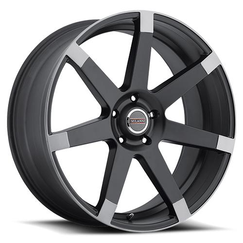Milanni Wheels 9042 Sultan Matte Black Anthracite Spoke