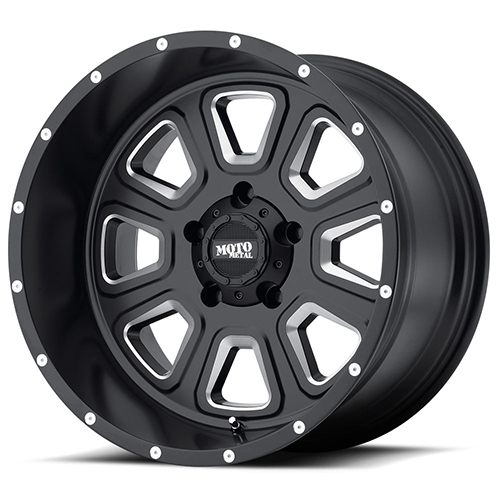 Moto Metal Offroad Wheels MO972 Satin Black Milled