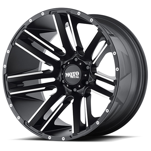 Moto Metal Offroad Wheels MO978 Razor Satin Black Machined