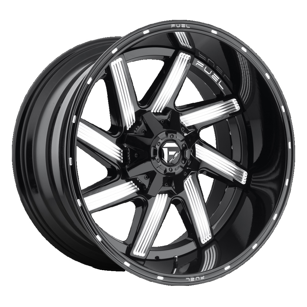 Fuel Offroad Wheels Moab Black Milled