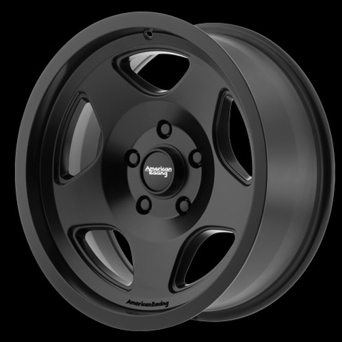 American Racing Wheels Mod 12 Satin Black