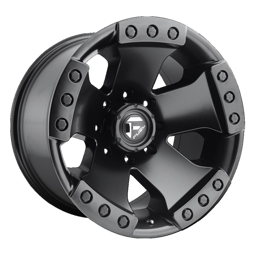 Fuel Offroad Wheels Monsta Matte Black