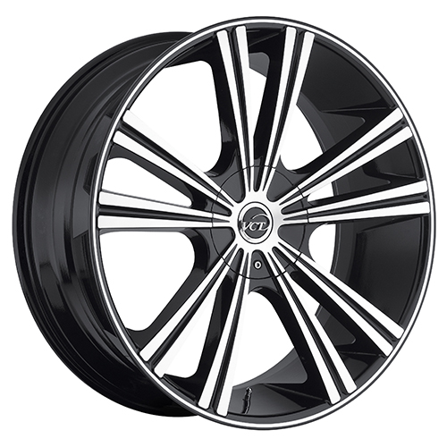 VCT Wheels Monza Black/Machined