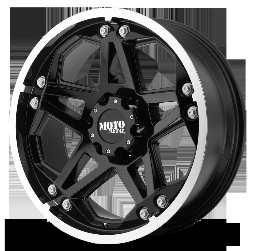 - Wheel Specials - Moto Metal Wheels MO960 G-Blk/Mch