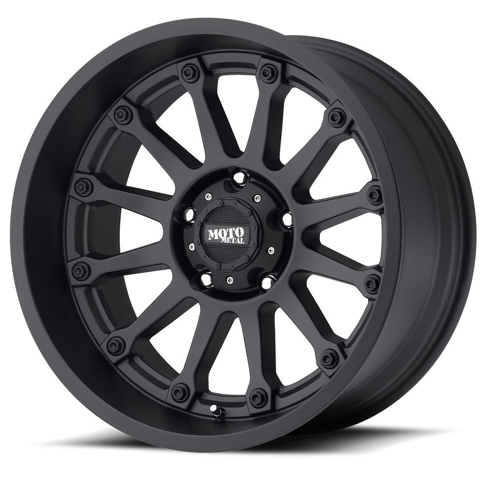 - Wheel Specials - Moto Metal Wheels MO971 Satin Black