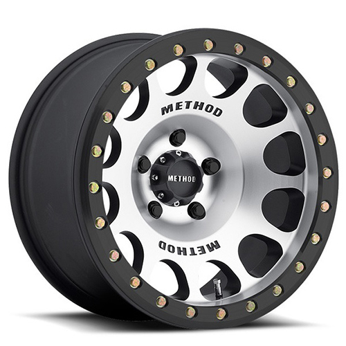 Method Race Wheels MR105 Machined with Matte Black Ring
