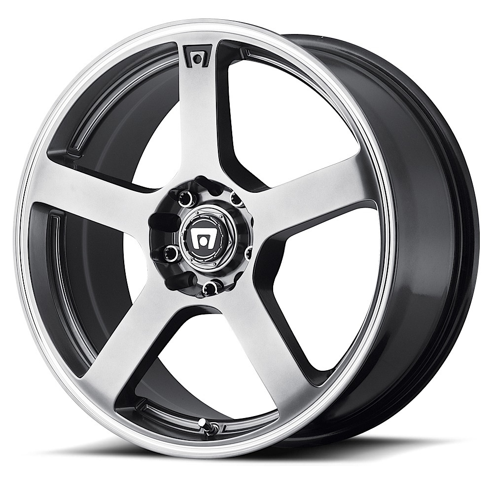 Motegi Racing Wheels MR116 Dark Silver With Machined Flange