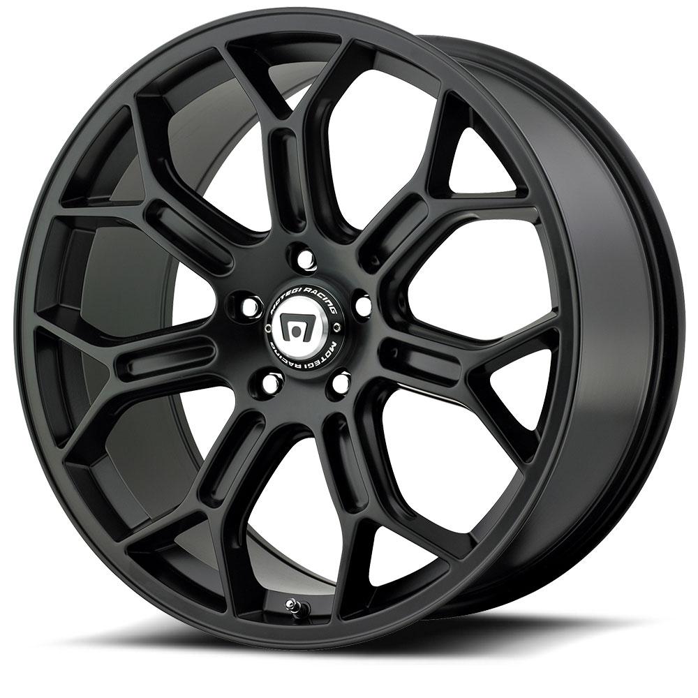 Motegi Racing Wheels MR120 Techno Mesh S Satin Black