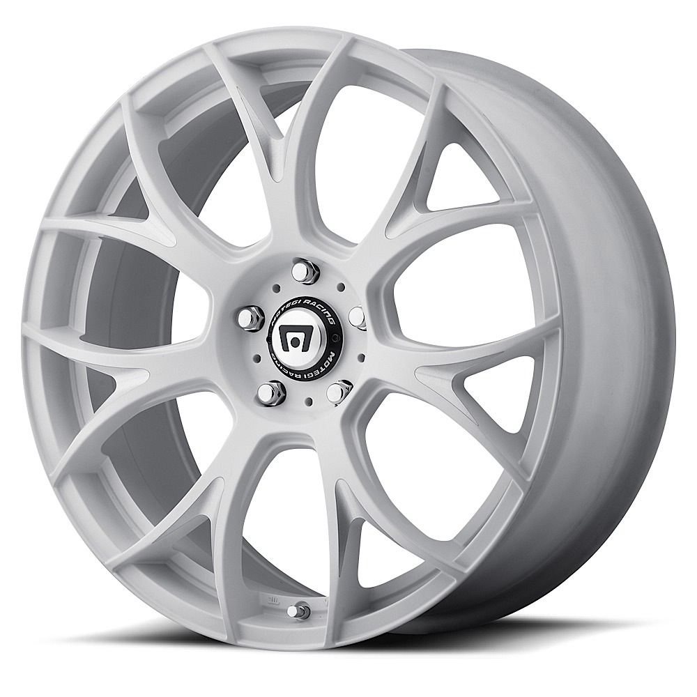 Motegi Racing Wheels MR126 Matte White With Milled Accents
