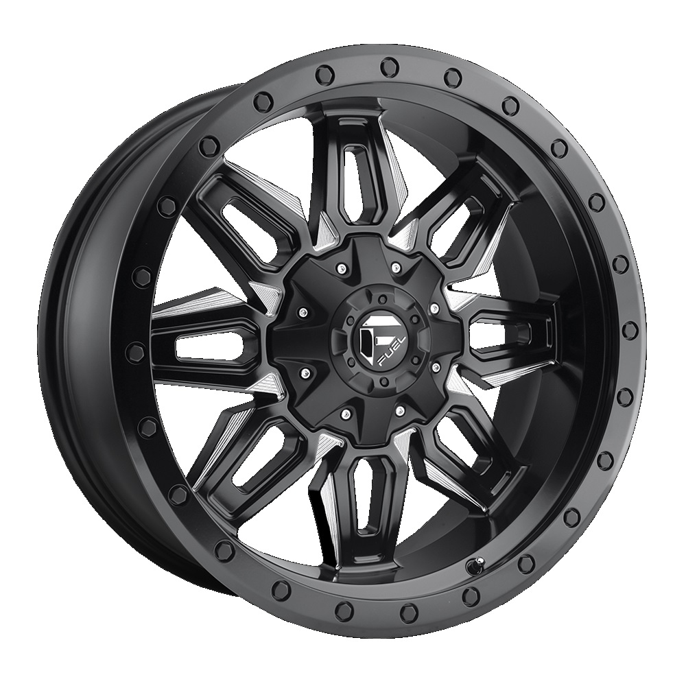 Fuel Offroad Wheels Neutron Black Milled