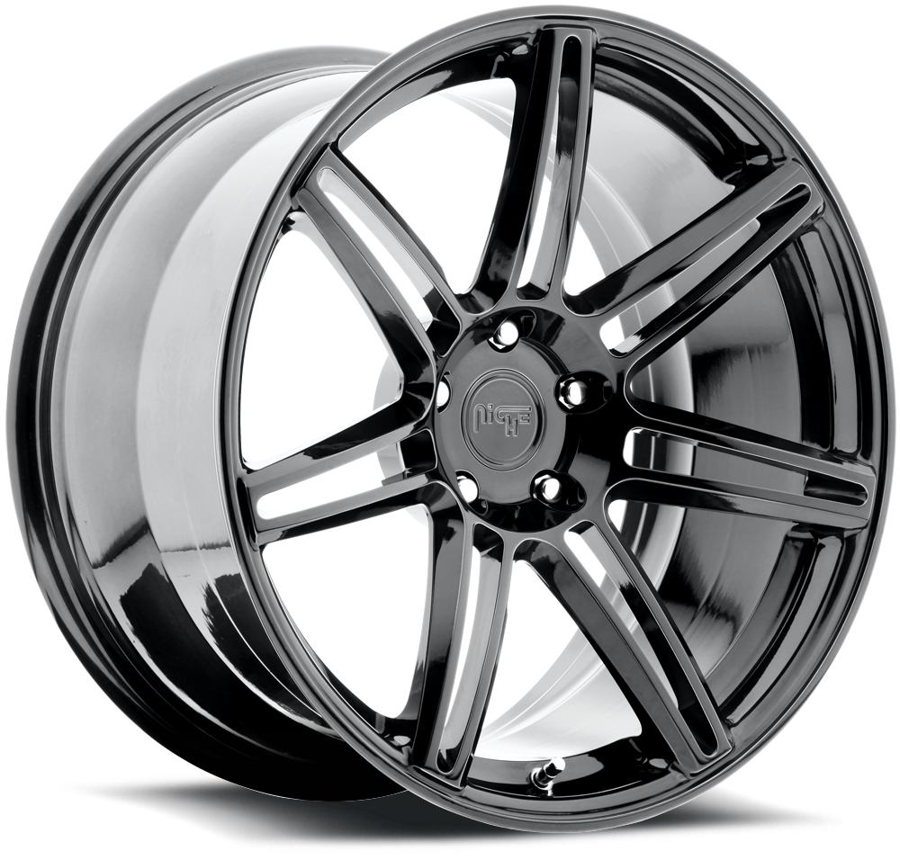 - WHEEL SPECIALS - NICHE LUCERNE CANDY BLACK CHROME (SOLD AS A SET OF 4)