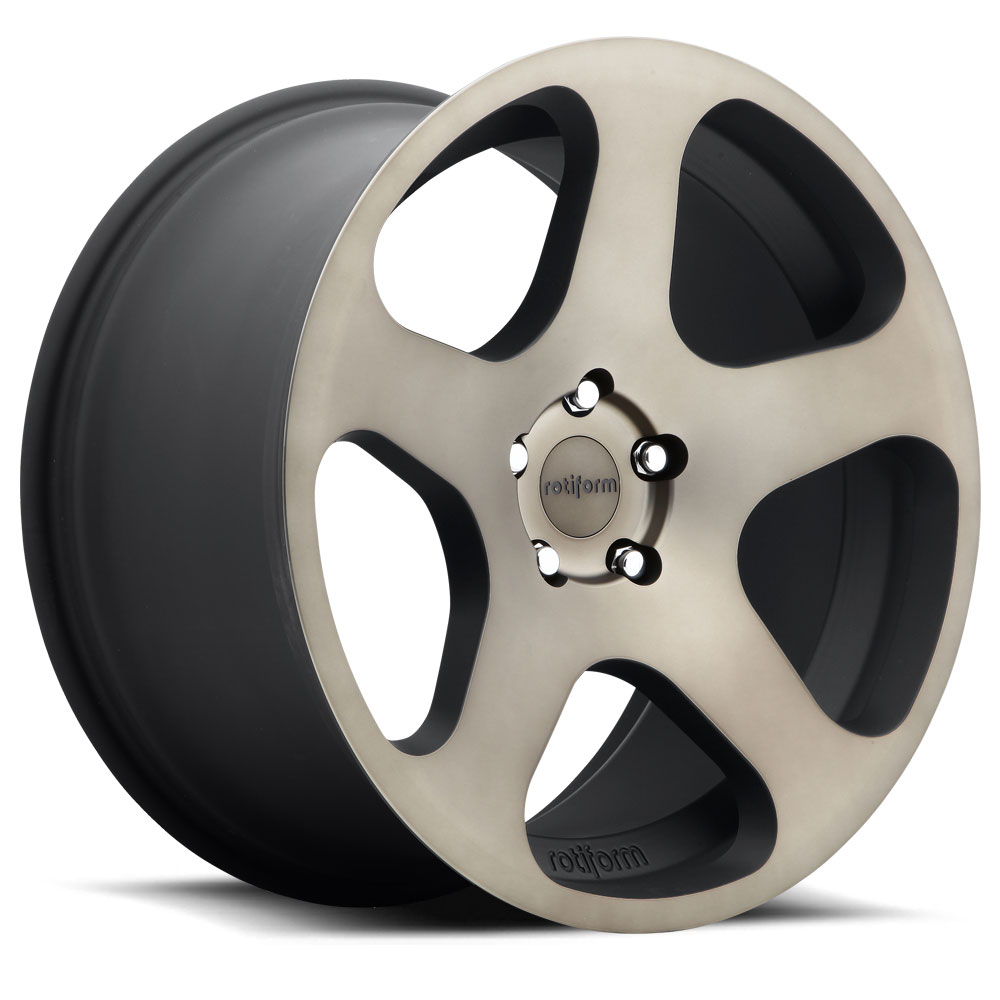 Rotiform Wheels R116 NUE MBD-Black Mach DDT