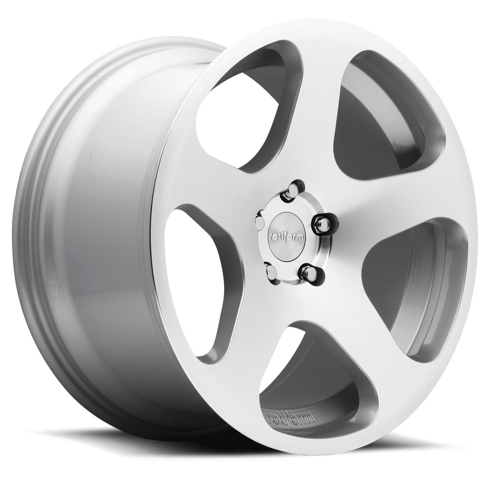 18x8.5  R115 NUE MS -Silver Machined