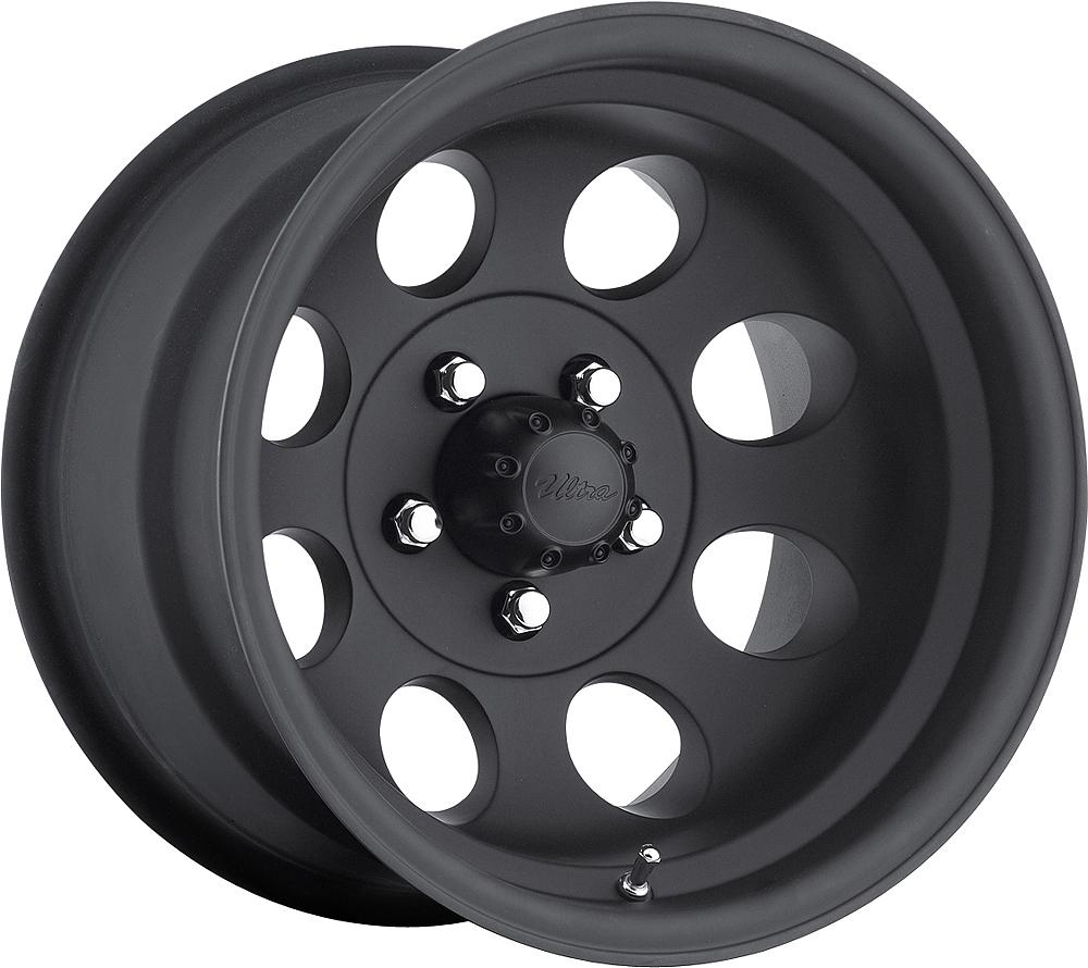 Pacer Wheels Lt Mod Black Matte Black