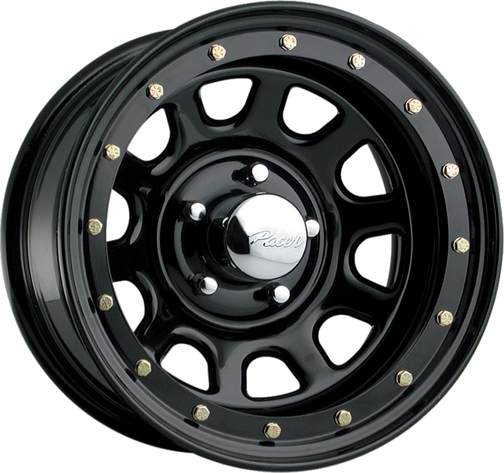 Pacer Wheels Street Lock Black