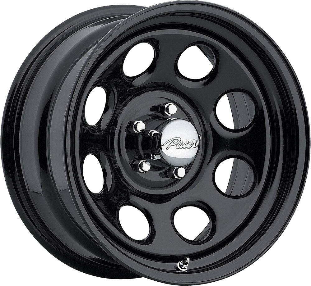 Pacer Wheels Soft 8 Black Black