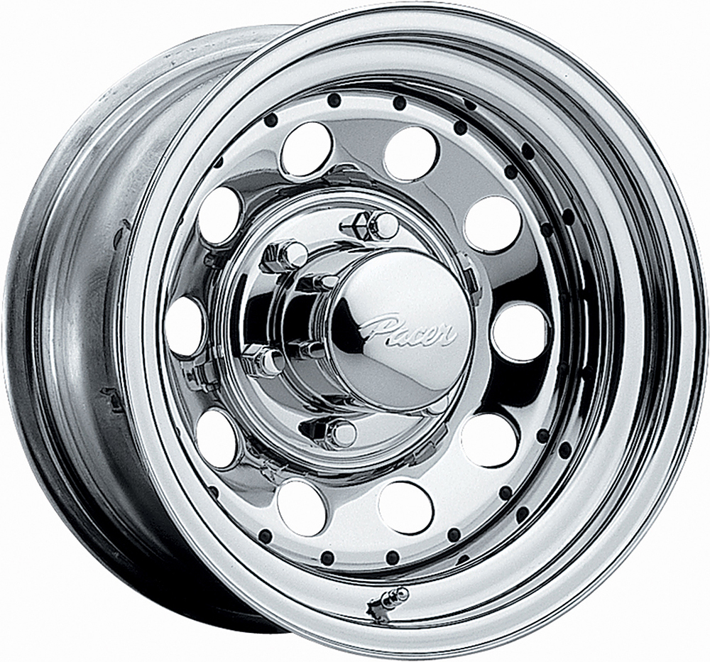 Pacer Wheels Chrome Mod Chrome Plated