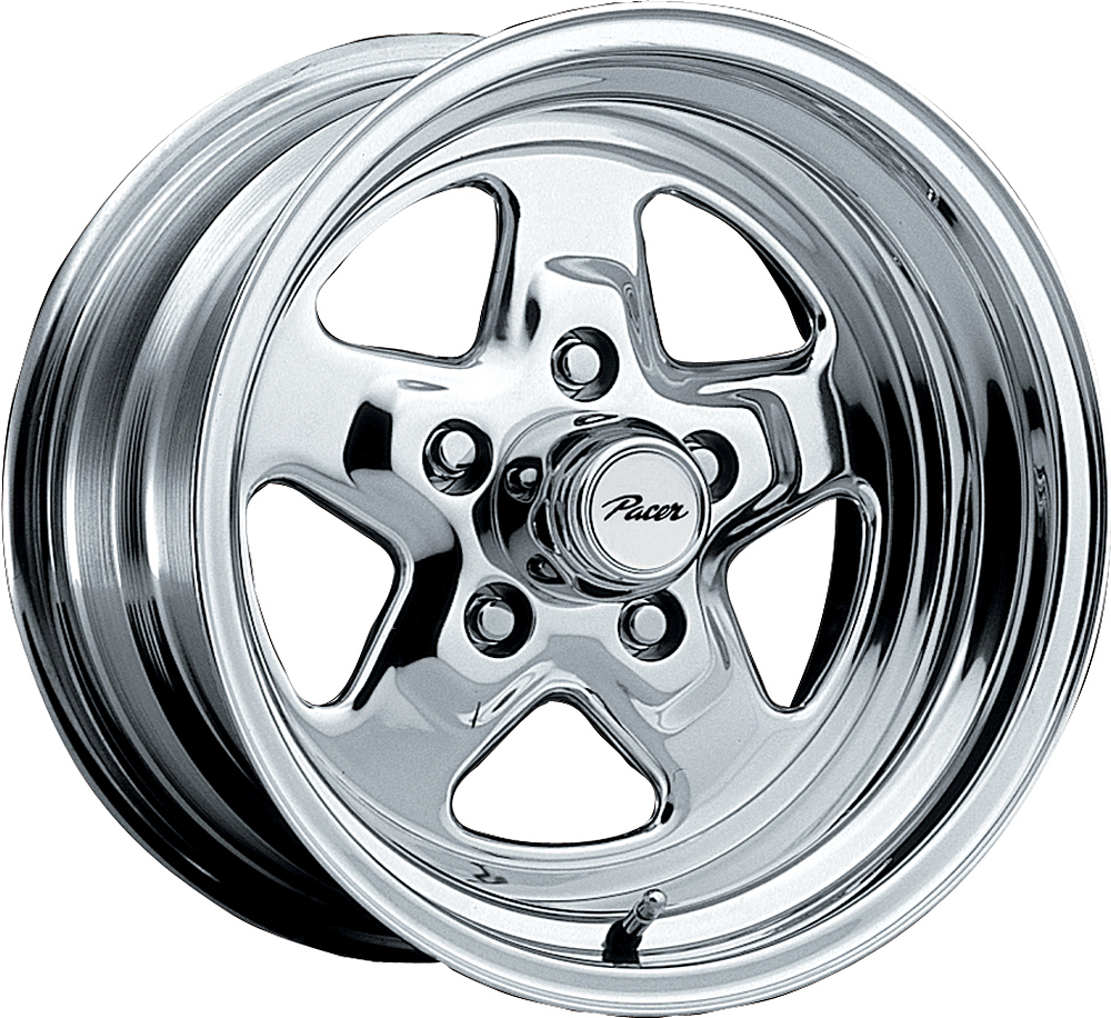Pacer Wheels Dragstar Polished