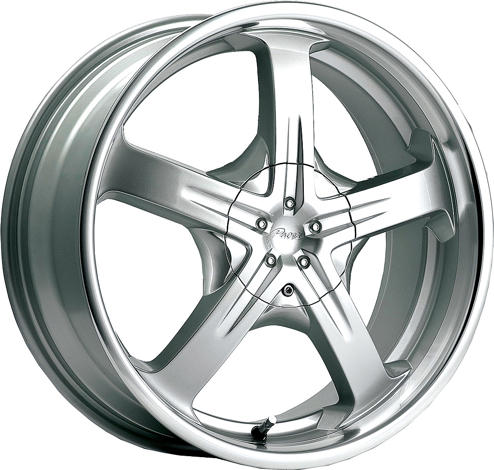 Pacer Wheels Reliant Titanium Silver Machined Lip