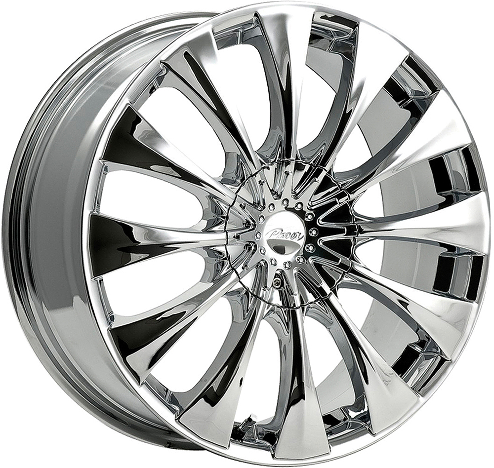 Pacer Wheels Silhouette Chrome Plated