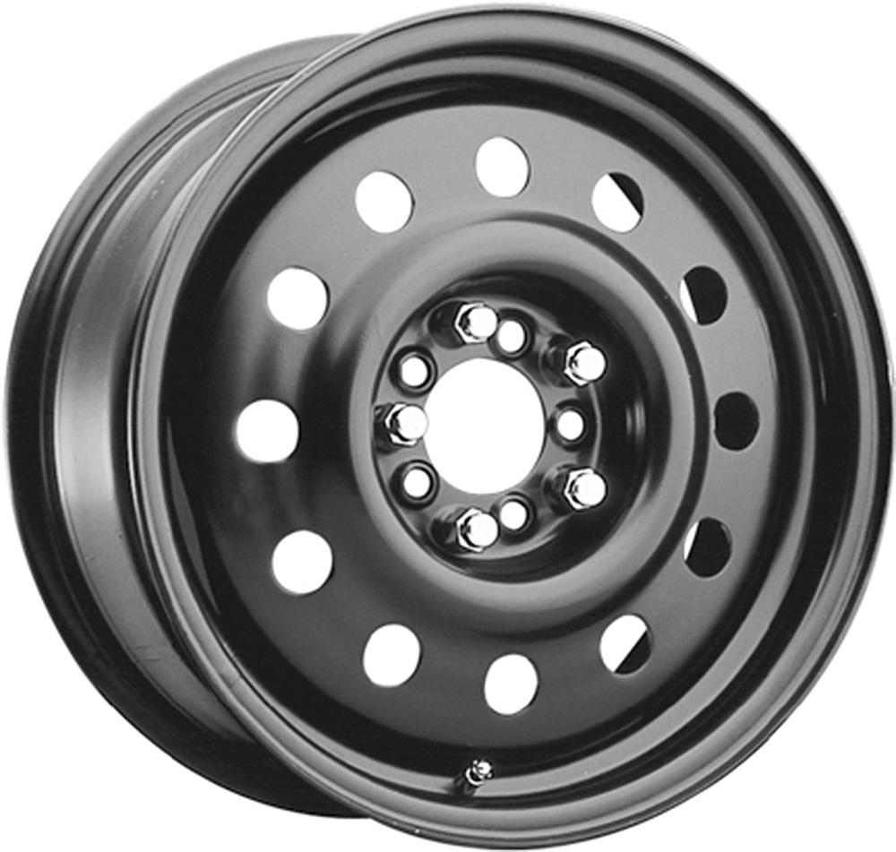 Pacer Wheels Fwd Blk Mod Matte Black